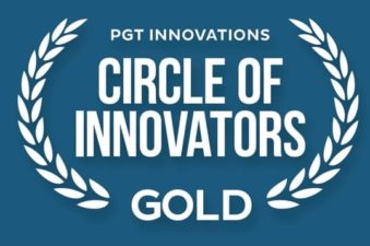 PGT Impact Winners and Doors Gold Award